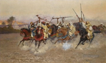 Coleman Galerie - THE SKIRMISH Enrico Coleman genre Araber